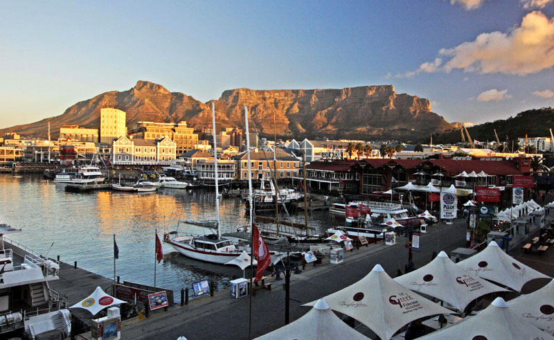 south africa cape town harbour satb