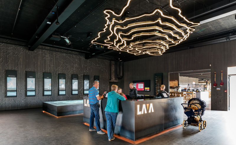 south west iceland lava centre exhib