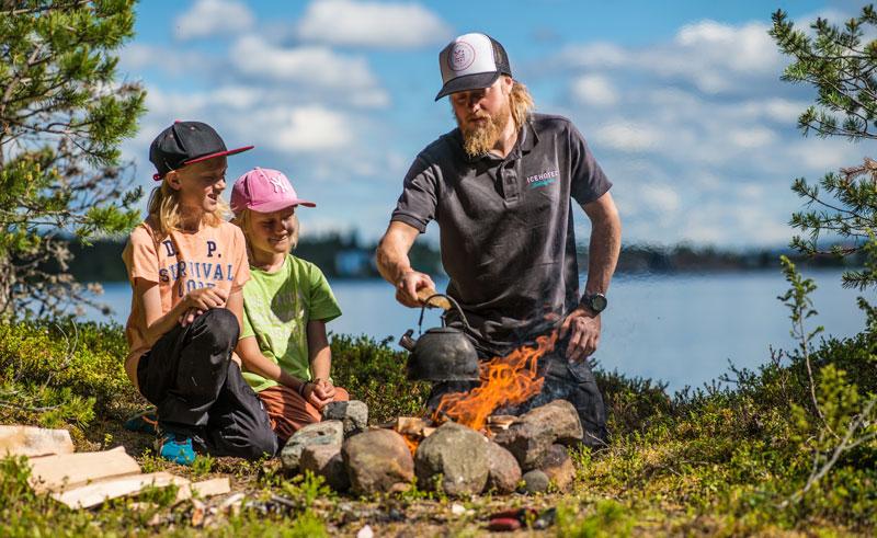 swedish lapland jukkasjarvi wilderness skills guide icehotel ak