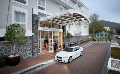 the commodore hotel exterior
