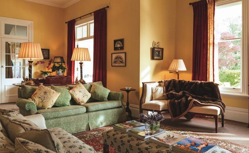 the manse living room