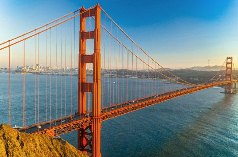 usa san francisco golden gate bridge dollar