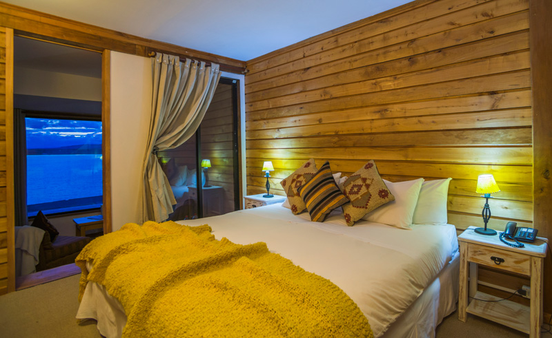 weskar patagonian lodge double with balcony