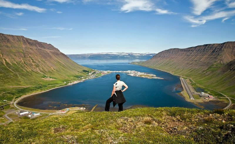 west fjords isafjordur hike