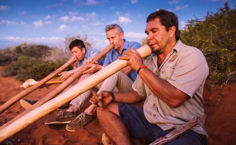 western australia shark bay didgeridoo dreaming night tour1