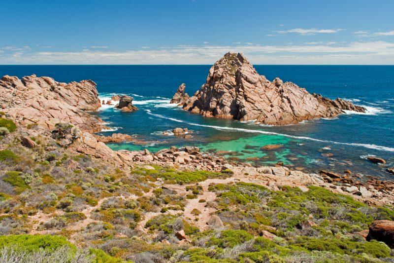 western australia sugarloaf rock cape naturaliste istk