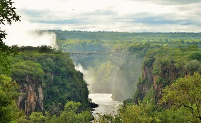 zimbabwe victoria falls bridge view