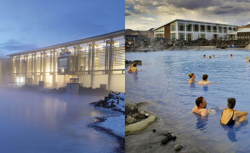 Blue lagoon vs nature baths