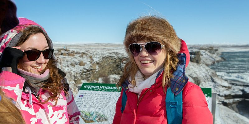 Iceland Students Gir Gullfoss