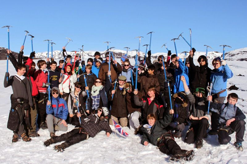 Iceland Students Glacier Group