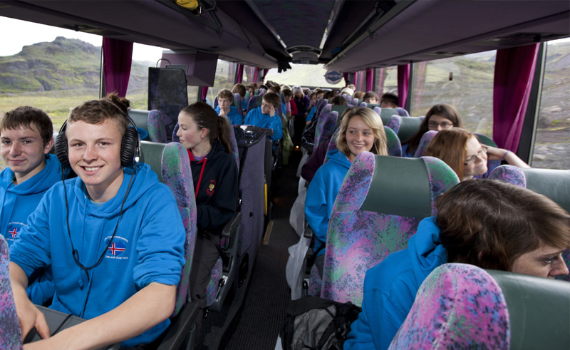 Iceland Students Group Coach 2