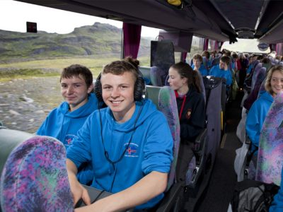 Iceland Students Group Coach Boy