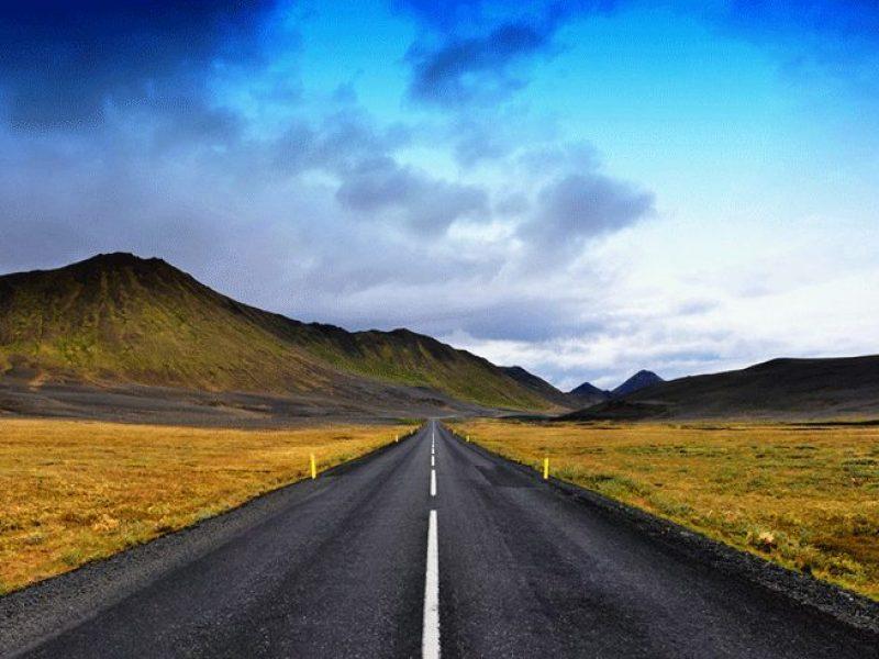 Iceland road east tony gomm