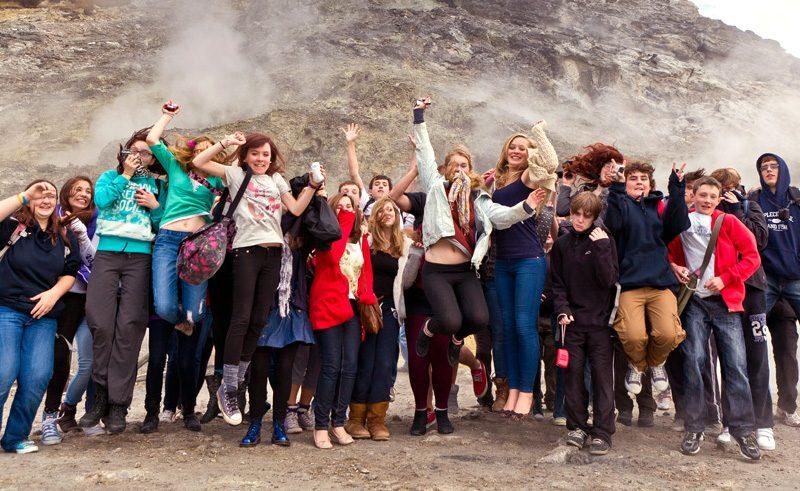 Italy Students Group Solfatara