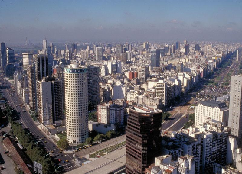 LatinAmerica Buenos Aires downtown