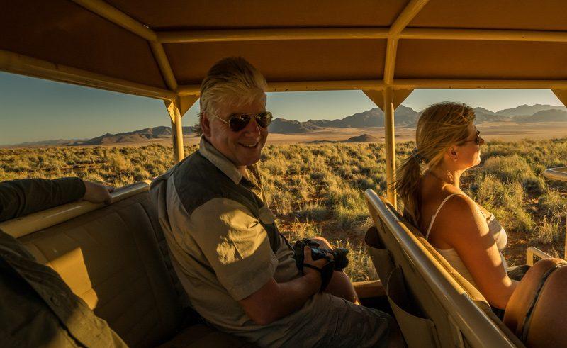 Namibia clive safari