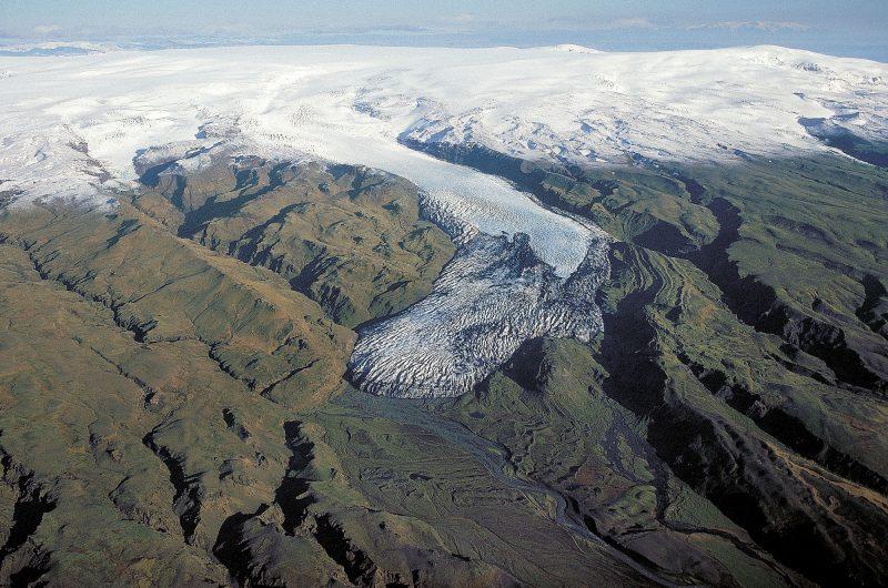 Solheimajokull in 2007 download