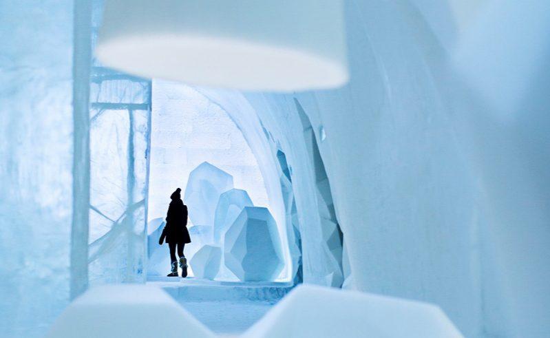 Sweden Icehotel Main Hall Photo Paulina Holmgren