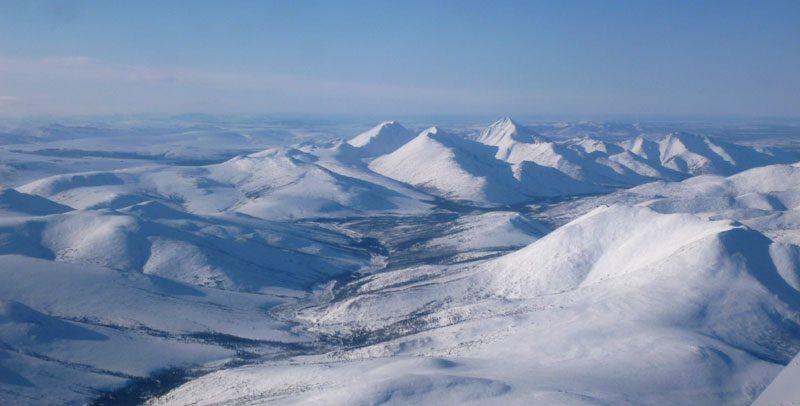 alaska aerial view coldfoot ll