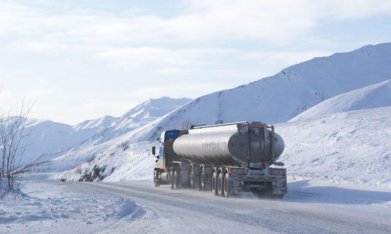 alaska ice road truck ll