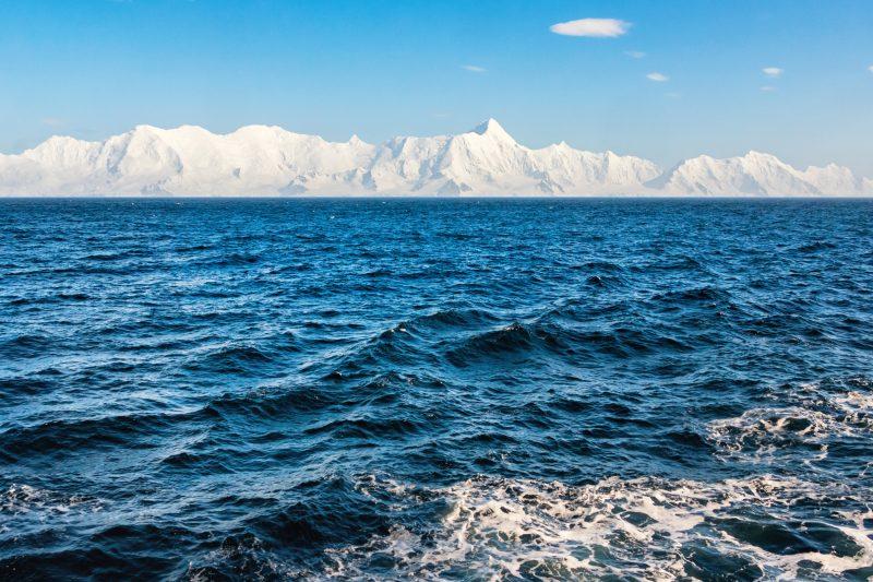 antarctica drake passage sailing past south shetland islands istk