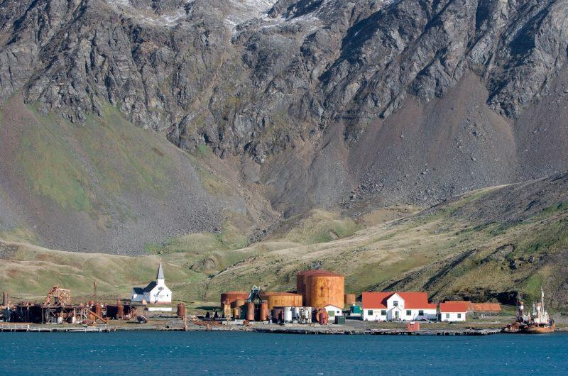antarctica south georgia grytviken old whaling station istk