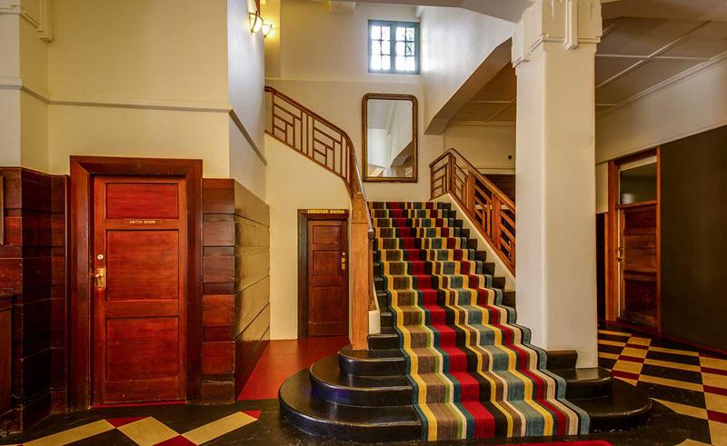 art deco masonic hotel napier foyer
