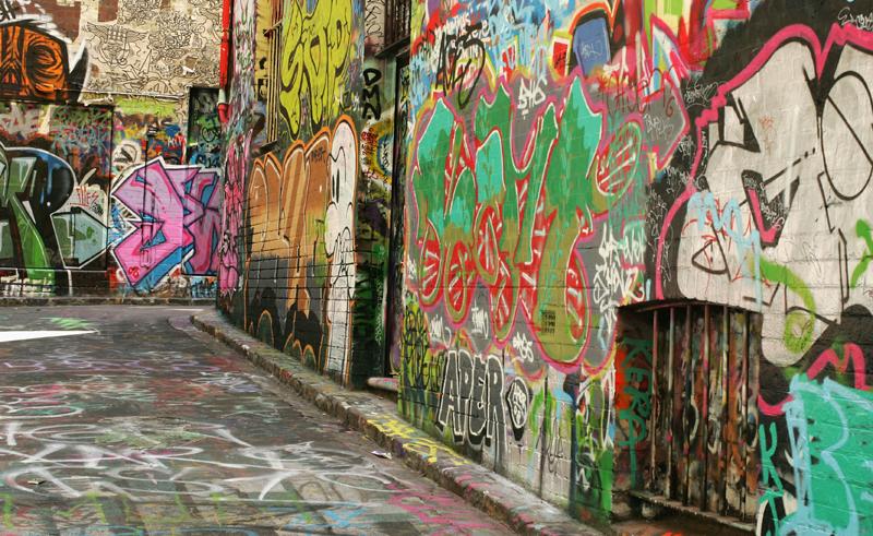 australia melbourne street art