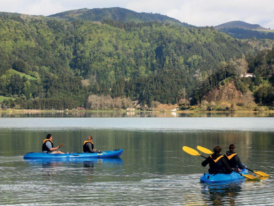 azores canoeing