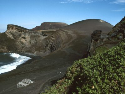 azores capelinhos volcano coastline
