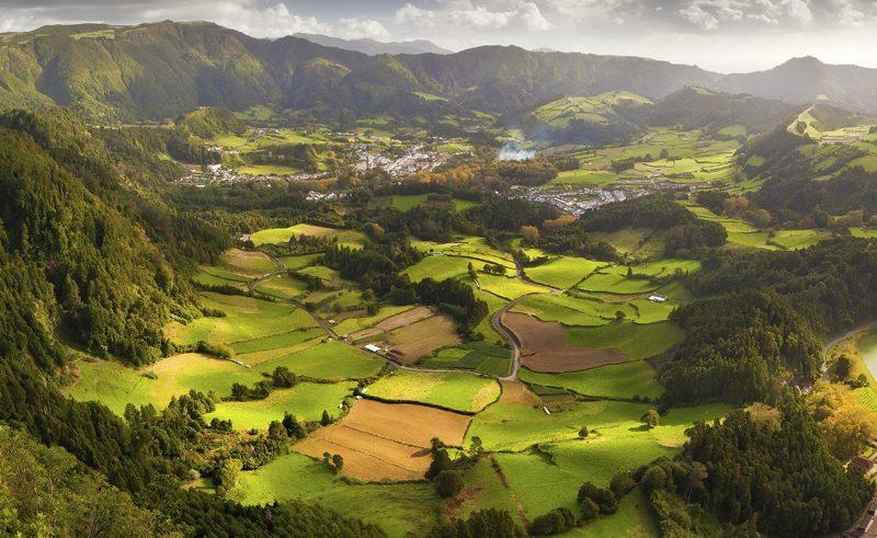 azores furnas valley
