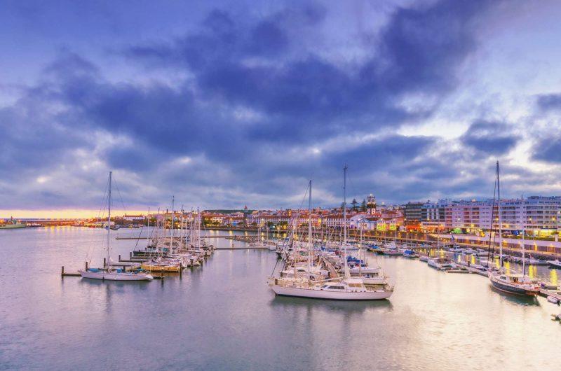azores horta harbour