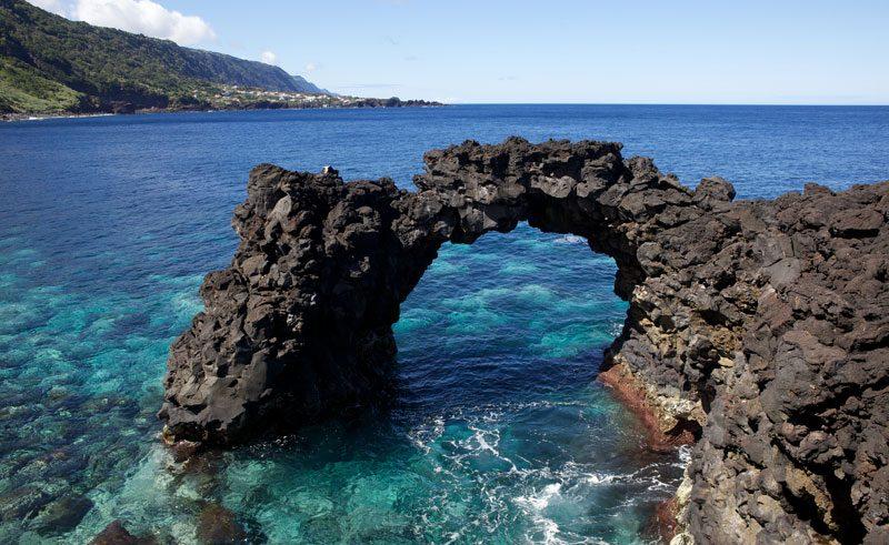 azores rock arch