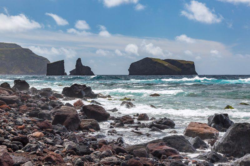 azores sao miguel island mosteiros coast view istk