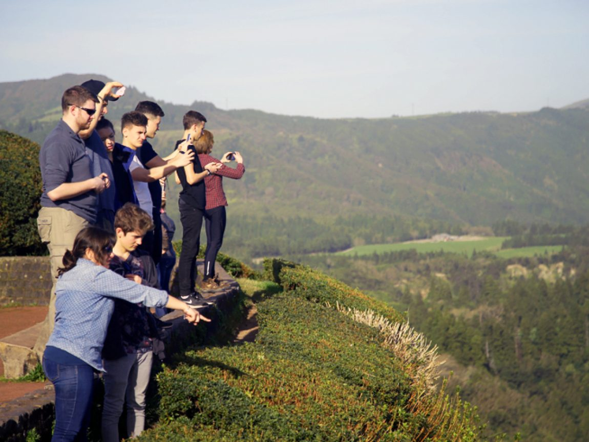 azores students field trip