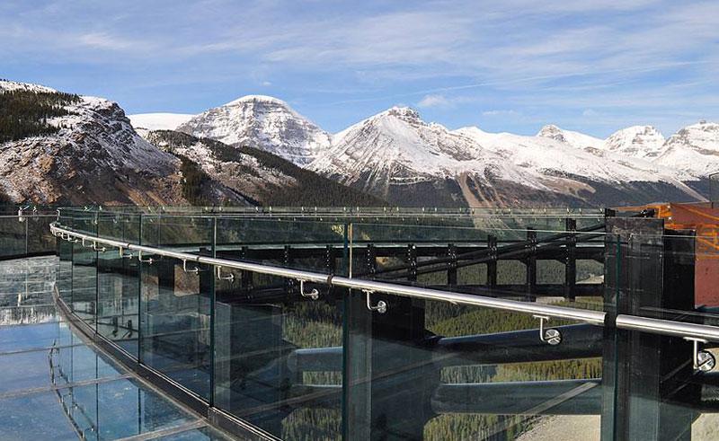 canada alberta glacier skywalk walkway