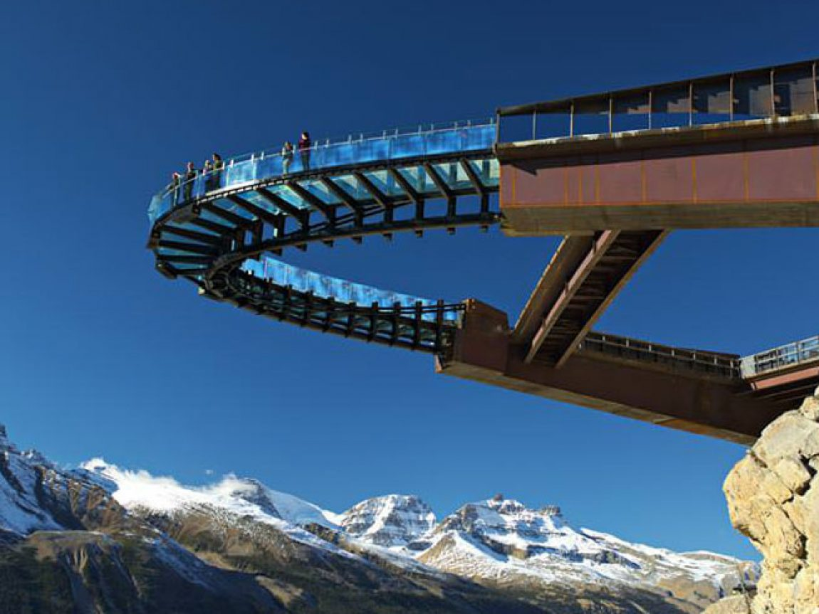 canada alberta glacier skywalk walkway2