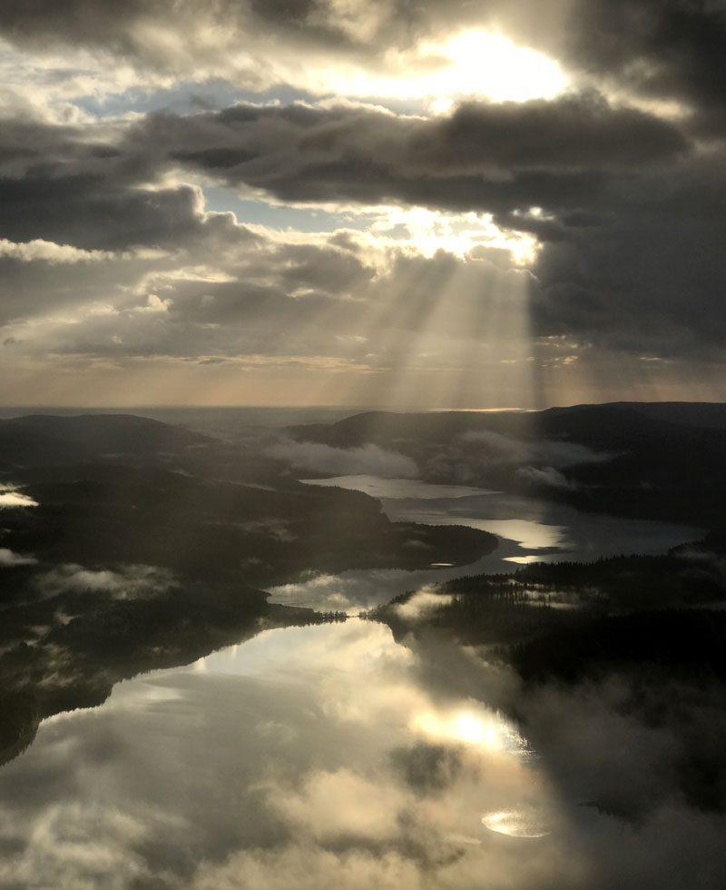 canada haida gwaii aerial view lg
