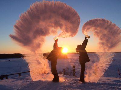 canada northwest territories snow spray pair bll