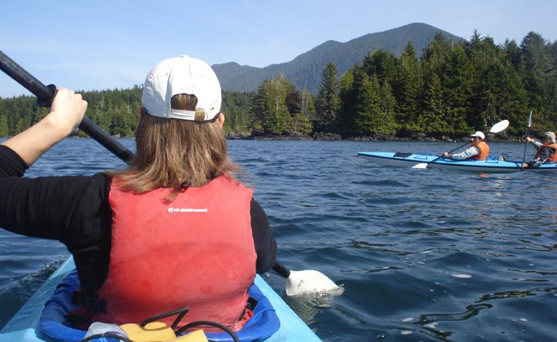 canada vancouver island tofino sea kayaking ll