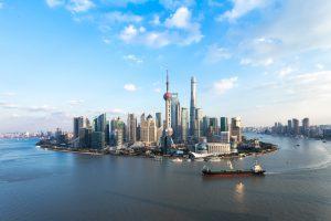 china shanghai aerial view istk