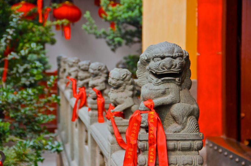china shanghai jade buddha temple