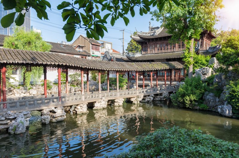 china shanghai yuyan gardens istk