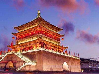 china xian bell tower