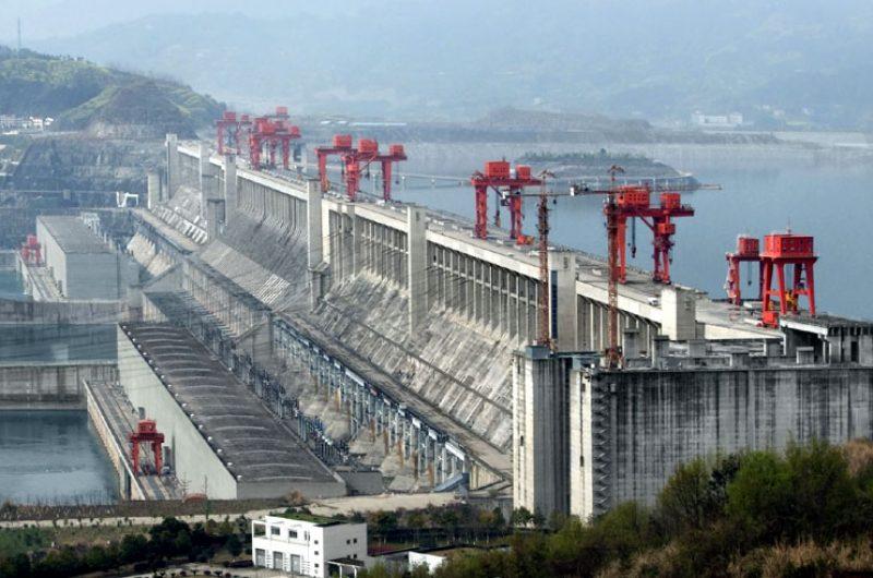 china yangtze river three gorges dam
