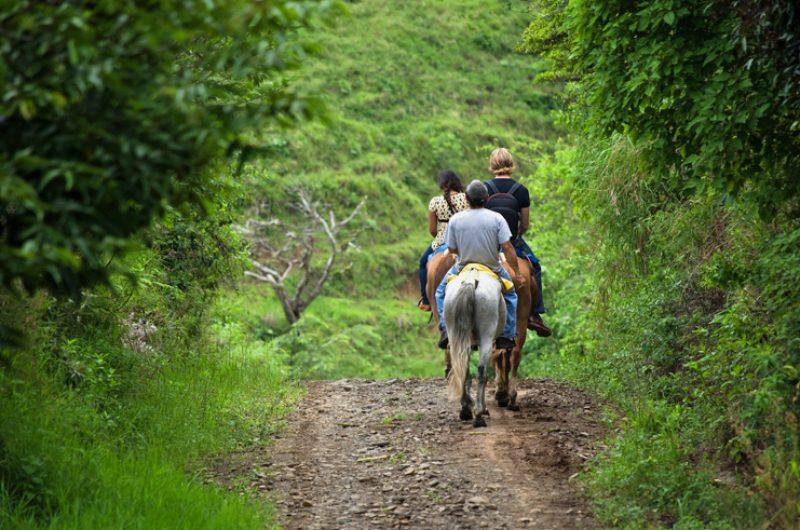 costa rica horse riding