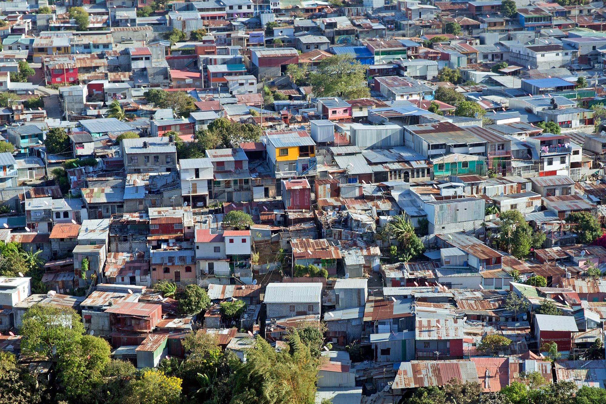 costa rica san jose aerial view adstk