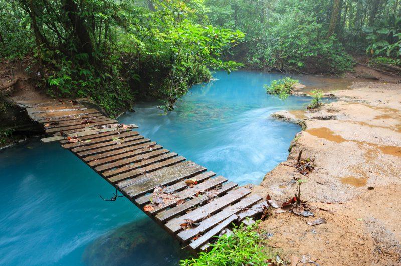 costa rica tonorio volcano national park rio celeste bridge istk