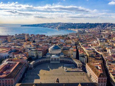 edu italy naples aerial view