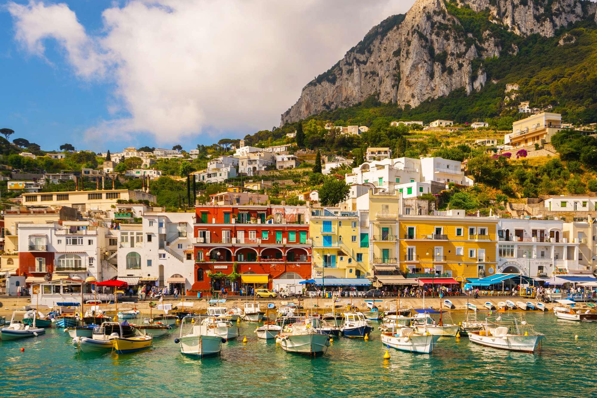 edu italy naples capri island boats
